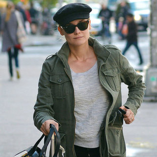 Diane Kruger Leaves Her NYC Hotel | Pictures