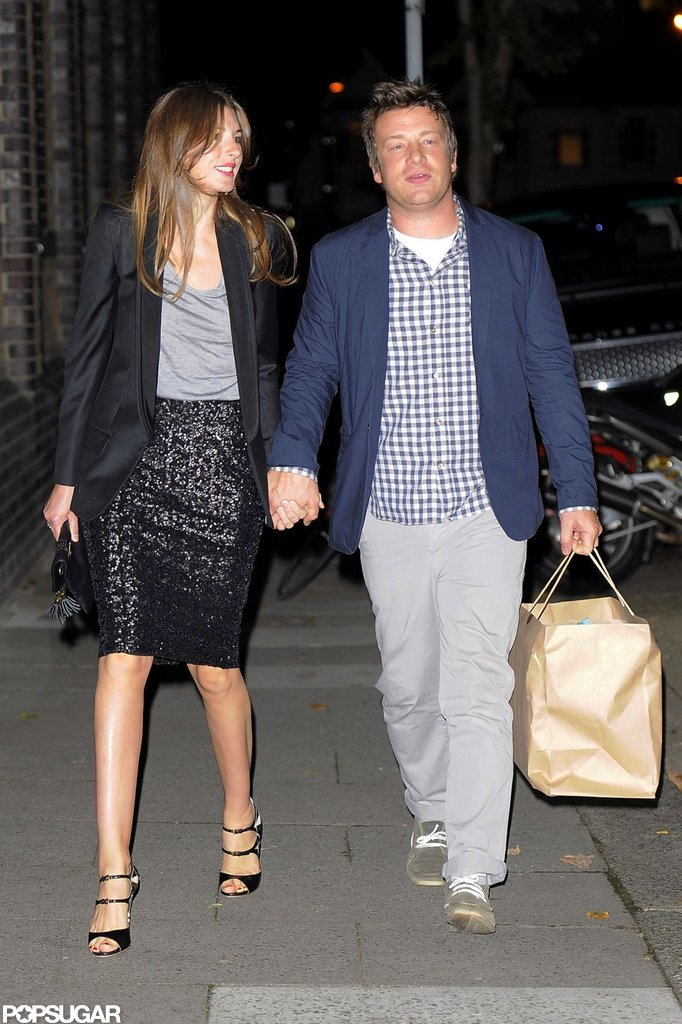 Jamie Oliver and his wife, Jools, attended Gwyneth Paltrow's London party.