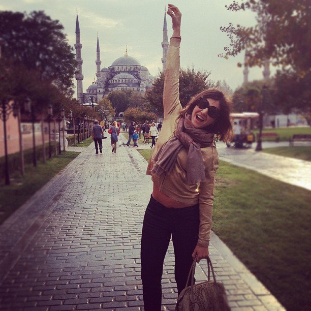 Margherita Missoni spent a day sightseeing. Source: Instagram user mmmargherita