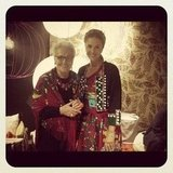 Margherita Missoni spent time with her grandmother Rosita. Source: Instagram user mmmargherita