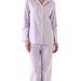 This lightweight fleece three j nyc Jamie Pajama Set ($119) comes in the softest lavender hue.