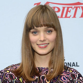 Hair Trend: Heavy Fringe That Sits Above Or On Your Brow Line, Like Bella Heathcote, Jessica Biel & Zooey Deschanel