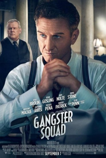 Nick Nolte and Sean Penn in Gangster Squad