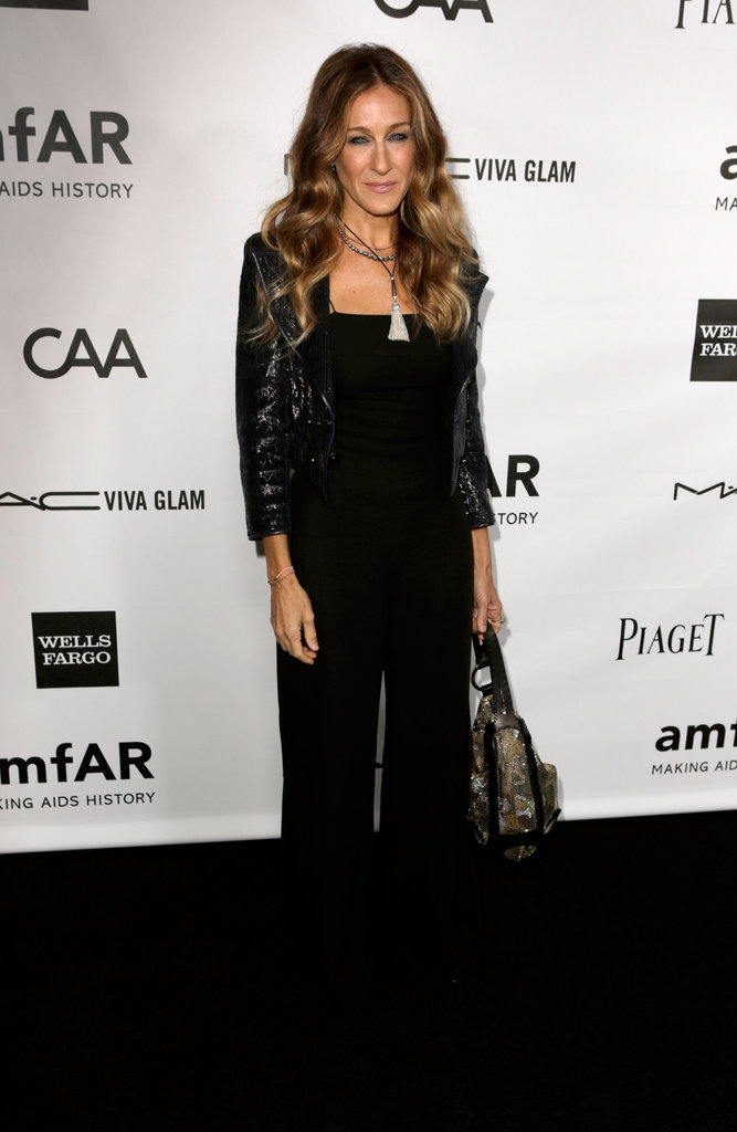 Sarah Jessica Parker posed for photos at Milk Studios in LA.