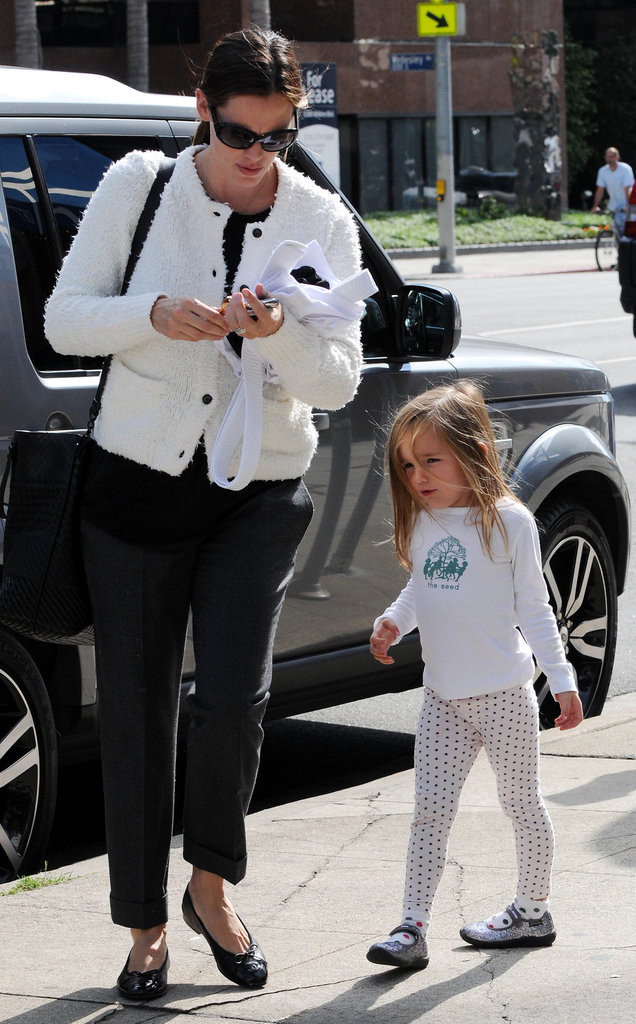 Seraphina Affleck and Jennifer Garner spent an afternoon out together.