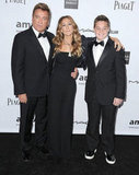 Sarah Jessica Parker chose a black outfit for the gala in LA.