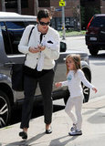 Jennifer Garner and Seraphina Affleck walked together in LA.