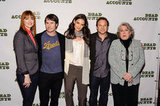 Katie Holmes attended a Dead Accounts photocall.