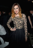 Rumer Willis attended the amfAR's Inspiration Gala in LA.