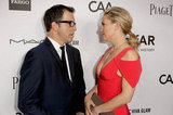 Kate Hudson spoke with Kenneth Cole at the gala in LA.