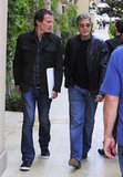 George Clooney and Rande Gerber had lunch in LA.