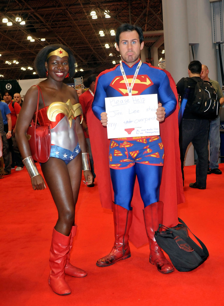 Wonder Woman and Superman