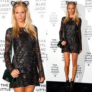 Poll: Poppy Delevingne's Cat-Ear Headband At Chanel Event