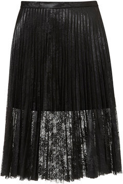 Lace frills give this Topshop Pleated Skirt ($96) a little something extra — just the right details to dress up at night with heels or pare down with a turtleneck for day.
