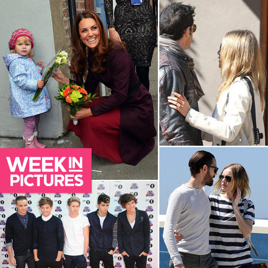 The Week in Pictures: Jennifer's engagement ring, Kate Middleton's little fan, Kate Bosworth hits Sydney & More!