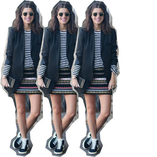 5 Ways to Wear Sneakers with Skirts: The Man Repeller Shows Us How To Wear Our High Tops Like a Lady