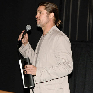 Brad Pitt at The House I Live In LA Screening | Pictures