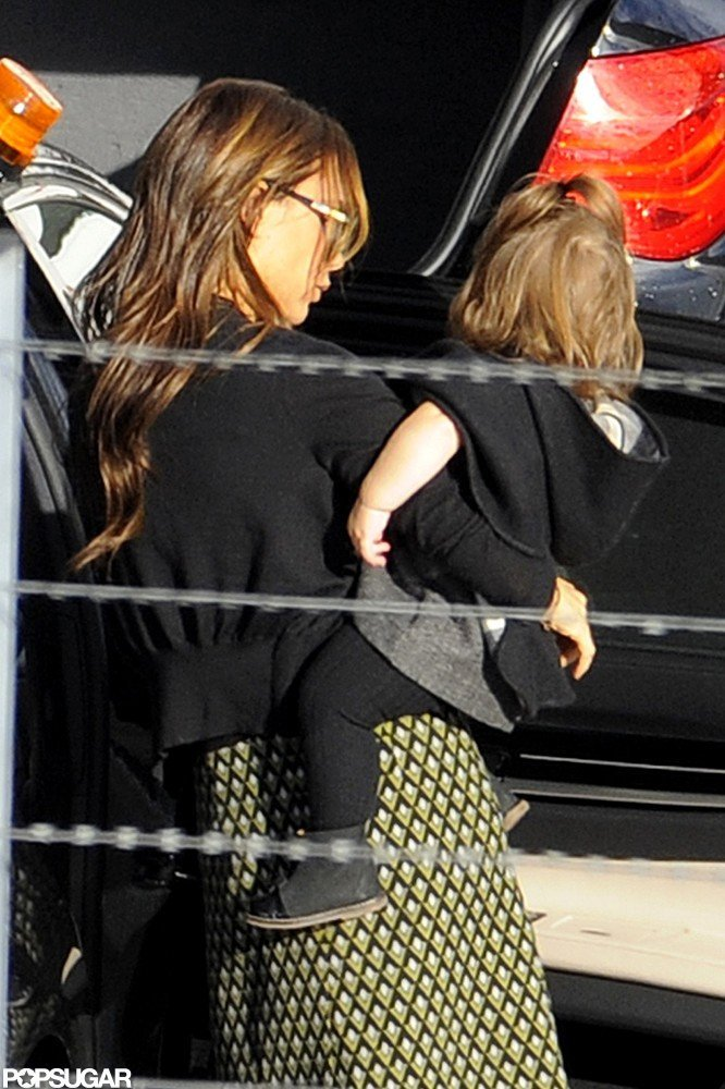 Victoria and Harper Beckham Share a Love For Designer Labels