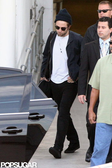 Robert Pattinson arrived in Sydney to promoteTwilight.