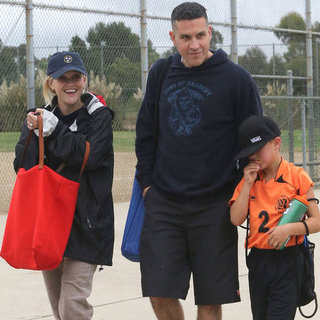 Reese Witherspoon at a Soccer Game With Jim Toth | Pictures