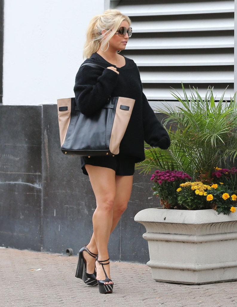 Jessica Simpson stepped out in LA.