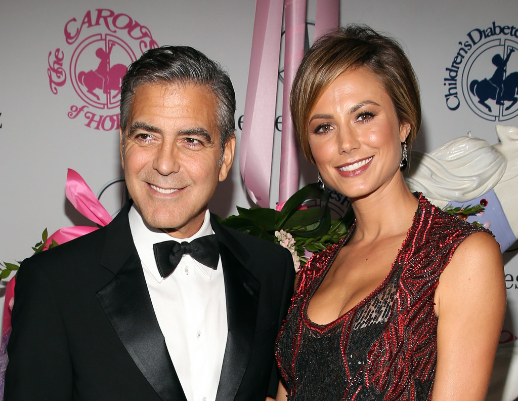 George Clooney Accepts a Big Honor With Stacy Keibler by His Side