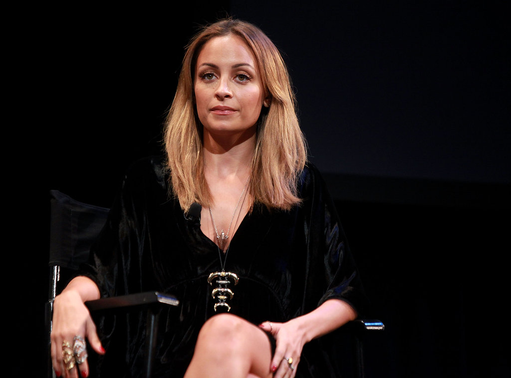 Nicole Richie made an appearance at the Teen Vogue Fashion University event in NYC.