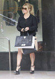 Jessica Simpson bought something at Saks.