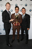 Tim Campbell, Firass Dirani & Anthony Callea.