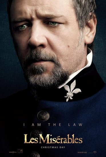 Russell Crowe in Les Misrables
