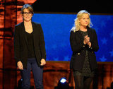 Tina Fey and Amy Poehler stepped out for the benefit in NYC.