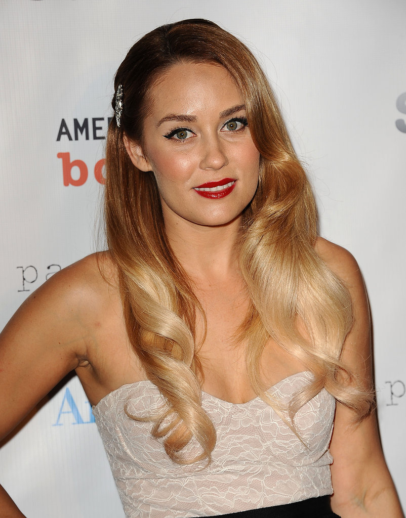 Lauren Conrad attended the Susan G. Komen foundation's Designs For the Cure gala in LA.
