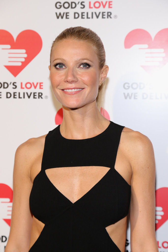 Gwyneth Paltrow posed for photos at the Michael Kors Golden Heart Gala in NYC.