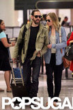 Kate Bosworth and Michael Polish walked and talked in New Orleans.