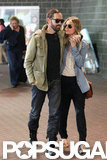 Kate Bosworth and Michael Polish both wore casual outfits in New Orleans.