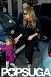 Jennifer Lopez went shopping with Emme Anthony in Paris.