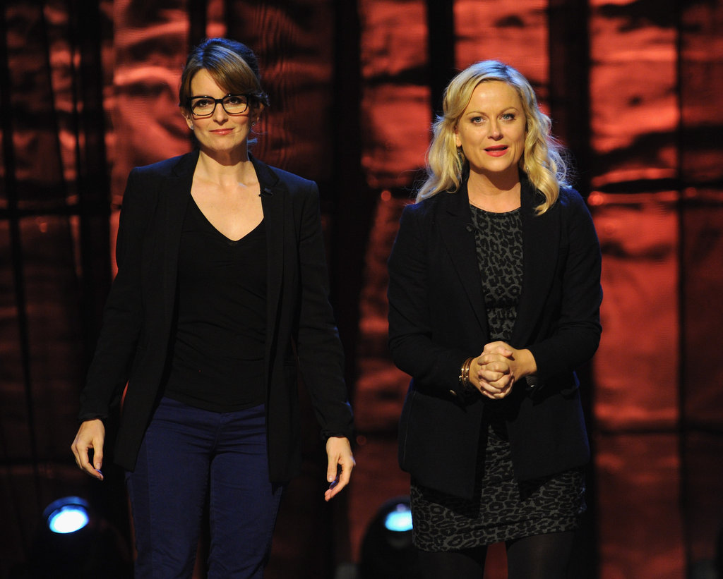 Tina Fey and Amy Poehler attended the Night of To Many Stars benefit in NYC.
