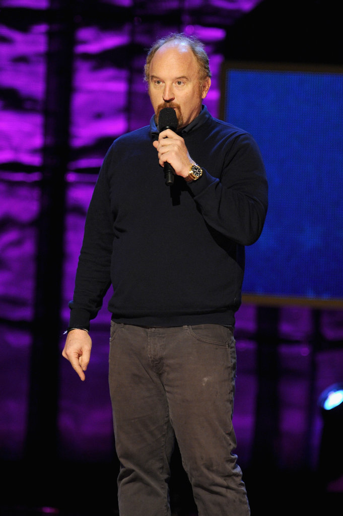 Louis C.K.was onstage in NYC.
