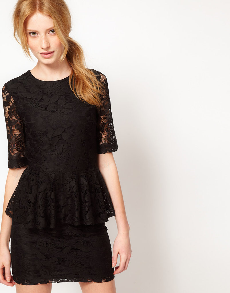 You can't beat the price or the added flair on this little Vero Moda Lace Peplum Dress($61).