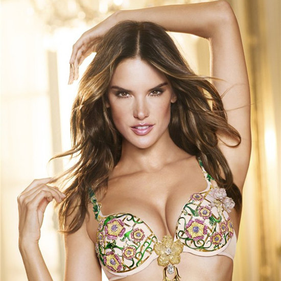 Alessandra Ambrosio in Victoria&#039;s Secret Fantasy Bra 2012