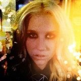 Ke$ha took a close-up. Source: Instagram user iiswhoiis