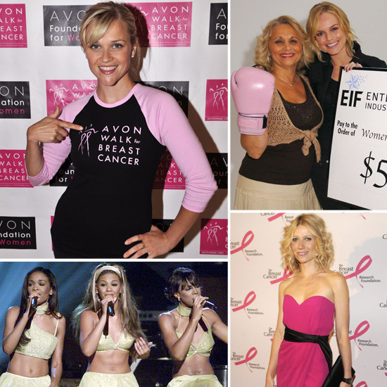 Celebrities Who Support Breast Cancer Awareness | StyleCaster