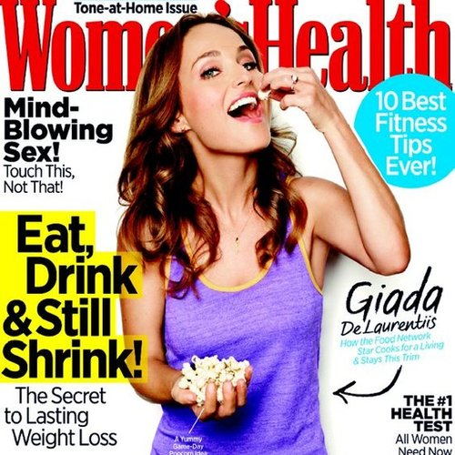Giada De Laurentiis Diet Tip in Women's Health