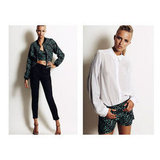 Bomber jacket, $295, Anna & Boy and short, $195, Anna & Boy