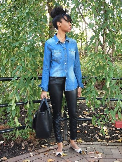 Leather &amp; Denim 