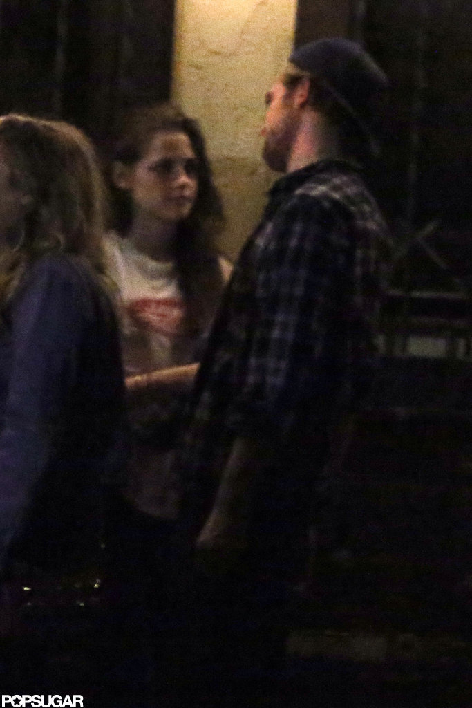 Robert Pattinson and Kristen Stewart chatted.