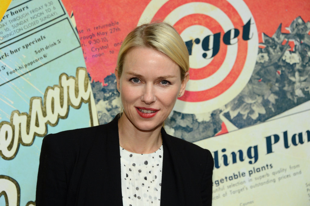 Naomi Watts wore a black blazer to attend the NYC event.