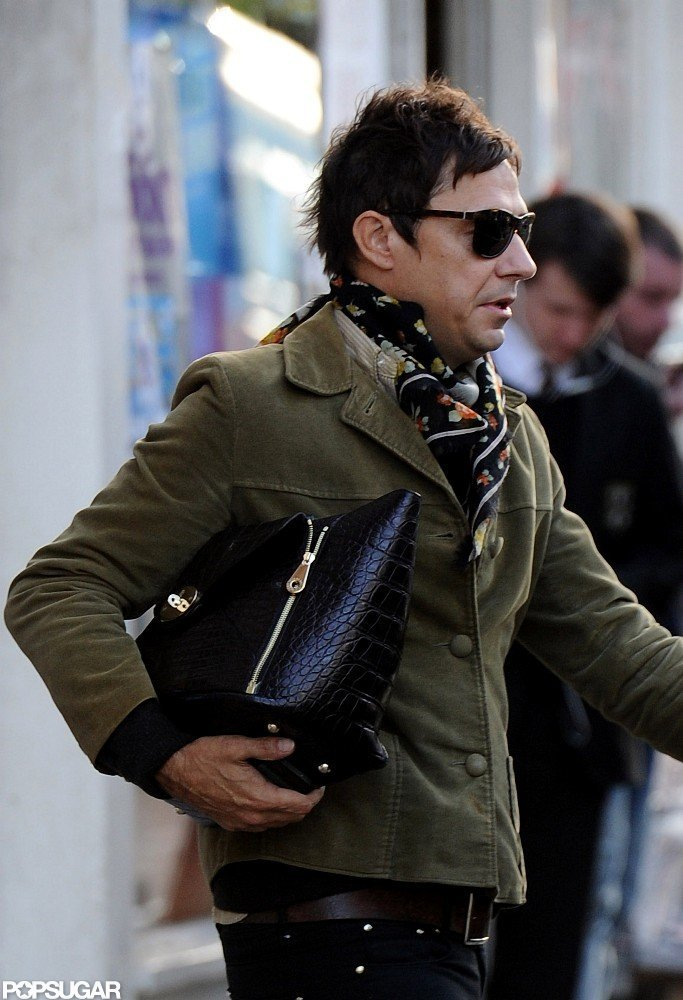 Jamie Hince stepped out in London