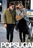 Kate Moss and Jamie Hince spent time together in London.