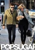 Kate Moss and Jamie Hince spent some time together in London.